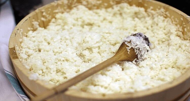 cocer arroz para sushi