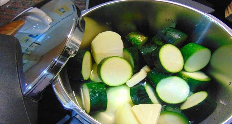 cook zucchini in express pot