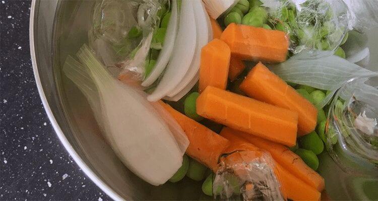 como cocer las verduras